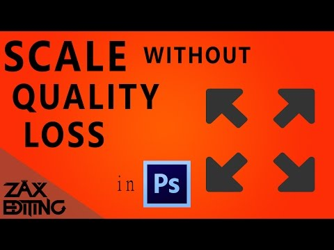 How to Re-Scale Images Without Quality Loss! | Photoshop Tutorial