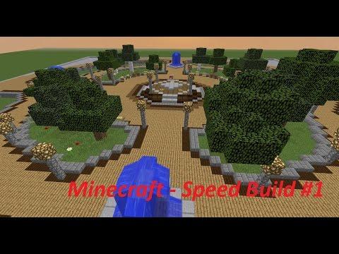 Minecraft - TimeLapse - Speed build | Server Spawn #1(HD)