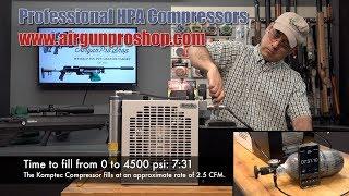 4500psi Air Compressor - Omega Super Charger