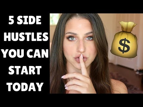 EASY WAYS TO MAKE EXTRA MONEY: 5 Side Hustles You Can Start TODAY