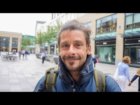 Cardiff Homeless Man Shares about Criminalization of Homelessness