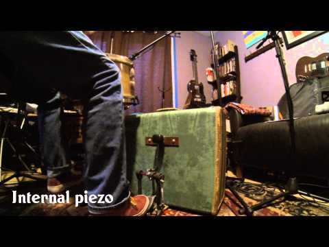 Suitcase Kick Drum: Micing Demo of a Sweetcase Kick