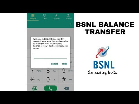 how to bsnl to bsnl balance transfer | how to transfer talktime balance from bsnl to bsnl