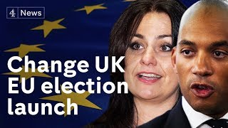 Change UK launch anti-Brexit EU election campaign