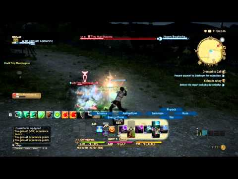 FFXIV A Realm Reborn (PS4 Beta 2) - Arcanista