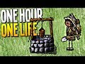 GETTING INFINITE WATER BY BUILDING THE WELL! Also There Are Penguins! - One Hour One Life Gameplay