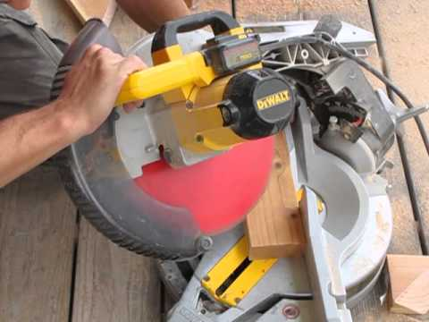 How to use the Miter Box to cut a compound miter angle