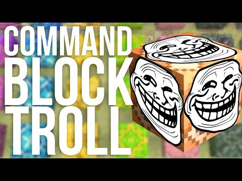 Mojang's Command Block Troll in Minecraft