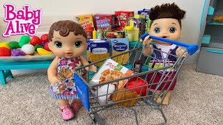 Baby Alive Abby Goes Grocery Shopping