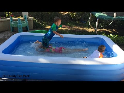 Xxx Mp4 Intex Swim Center Family Inflatable Kiddie Pool Review 3gp Sex