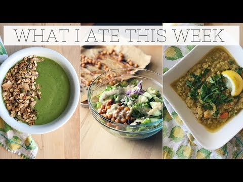 WHAT I EAT IN A WEEK | Plant-Based Budget Meals with Recipes!