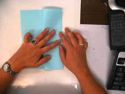 paper folding: an 8 page book.avi