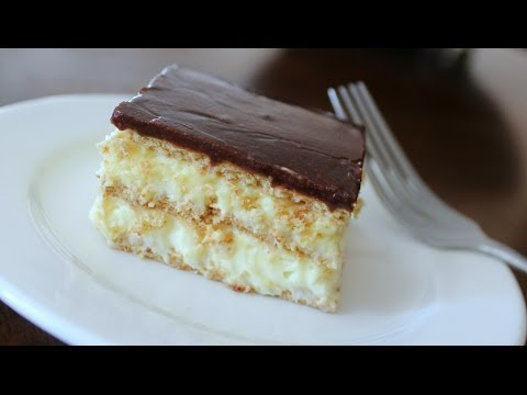STAY FIT SUNDAY | NO BAKE CHOCOLATE ECLAIR DESSERT *CHEAT MEAL EDITION*