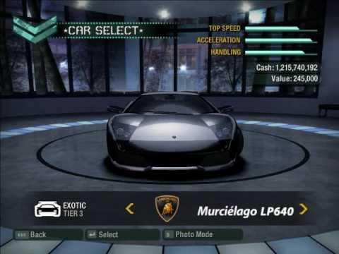 NFS Carbon: Bonus Cars In Career Mode