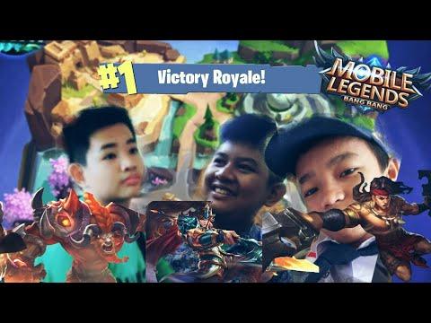 3 Orang Nyobain Mode Survival 😂 • Mobile Legend