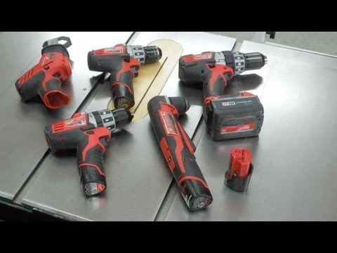 Cordless Drill Storage