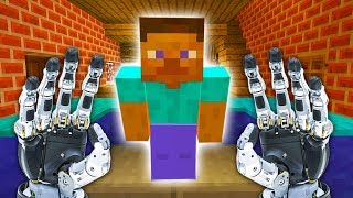 REALISTIC MINECRAFT - STEVE GOES TO THE FUTURE!