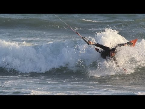 Kite Body Surfing. Don't Call it Body Dragging