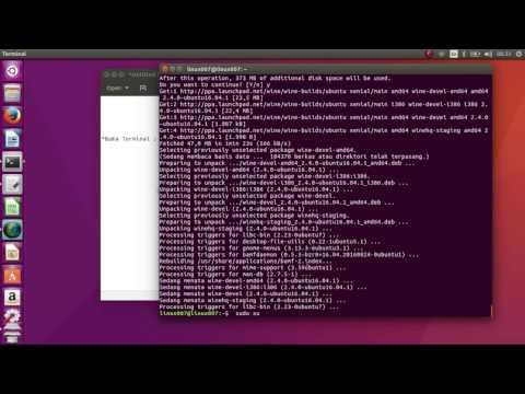 How to Install Wine 2.0 on Ubuntu 16.04