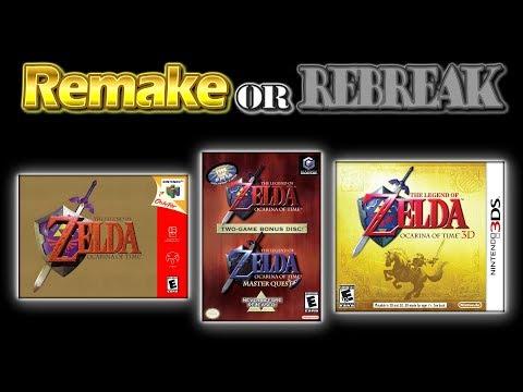ROR The Legend of Zelda Ocarina of Time (N64 Vs. GCN Vs. 3DS)