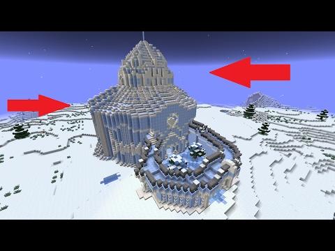 Minecraft Ice Palace Timelapse