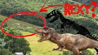 Is Rexy Dead?  Dinosaur Corpse in Jurassic World 2