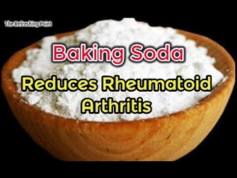 Baking Soda May Help Reduce Rheumatoid Arthritis & Other Inflammation of Autoimmune Diseases
