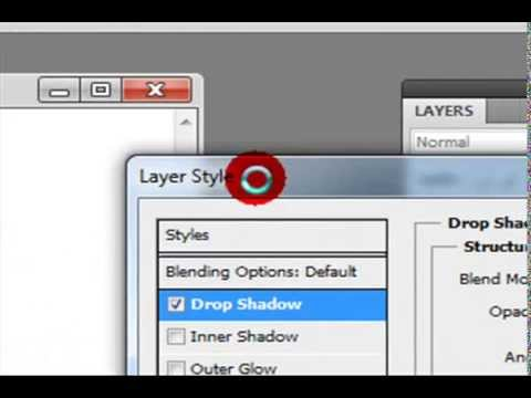 Learn Copy Layer Style , Paste Layer Style Option in Adobe Photoshop CS5