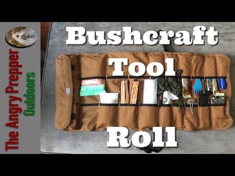 Bushcraft Tool Roll