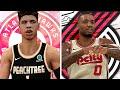 NBA 2K20 MyCAREER LaMelo Ball 3 Action Packed Battle Vs Damian Lillard amp CJ