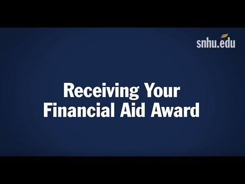 5. Receiving Your Financial Aid Award