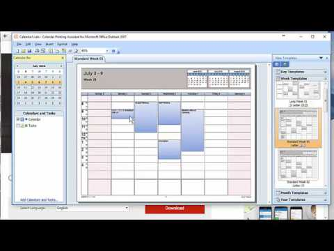 Outlook 2016 print multiple calendars at one time by Chris Menard