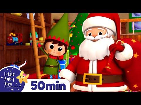 Jingle Bells | Christmas Songs | Plus Lots More Children's Songs! | 55 Mins from LittleBabyBum!