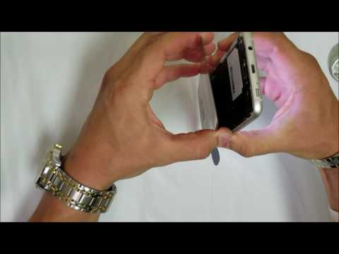 How to Remove the Samsung Galaxy S7 Edge Back Glass Cover