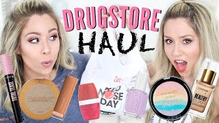 HUGE DRUGSTORE HAUL | NEW MAKEUP!