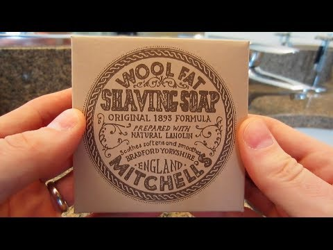 Mitchell's Wool Fat Shaving Soap - Lather Review