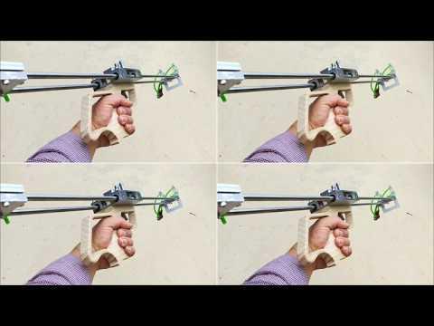 How to make slingshot rifle