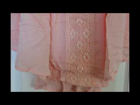 Milumia: Summer Dress in Pink with a Lace/Crotchet waist #Review #Milumia #Fashion #SummerDresses