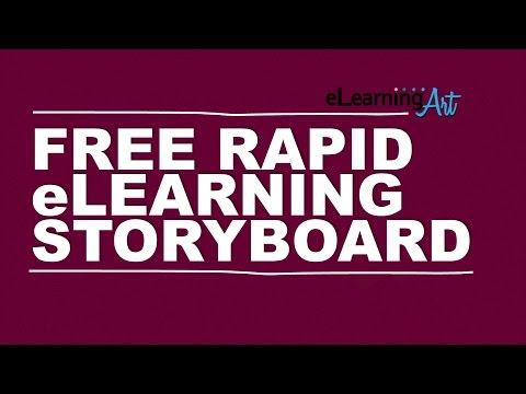 Free Rapid eLearning Storyboard