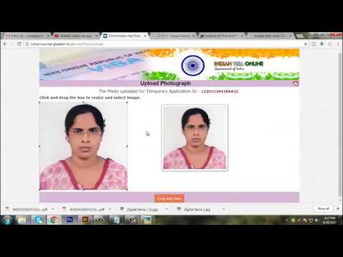 How To Fill Up Indian Visa Application Form | Bangladesh To Indian Form