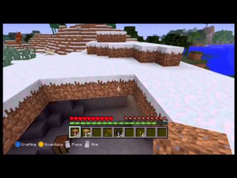 *NEW* Minecraft Xbox 360 Survival Series - Ep.1 - Big Cave House!!