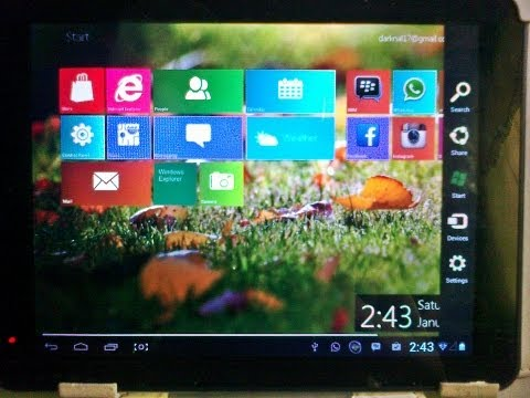 How to Install Windows 8 Metro Launcher PRO on Android/Tablets | Free |