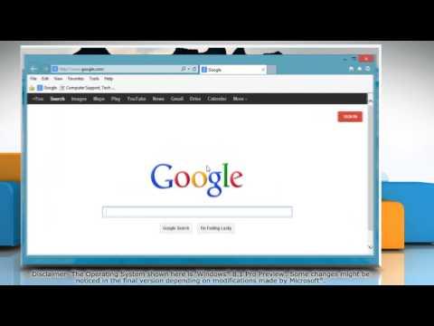 How to Block Pop-ups in Internet Explorer® 11 on Windows® 8.1
