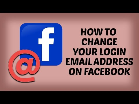 How to Change Your Login Email Address on Facebook in Hindi | How To Facebook Tutorials in Hindi