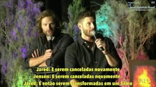 Jared e Jensen - FIlhos e Zoando Stephen Amell (PHXCon pt 4) Legendado