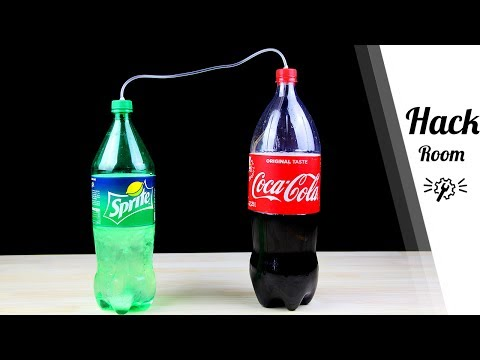 Simple Tricks to ReCarbonate Coca Cola or Any Soda Drink in 5 Mins