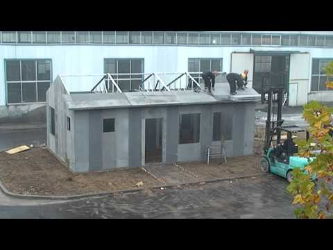 CLEVER HOUSE Foam Cement Method 20 11 2013