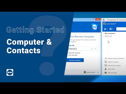 Getting Started with TeamViewer - Computers & Contacts