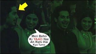 Khushi Kapoor Having FUN With Jhanvi Kapoor's BOYFRIEND  Ishaan Khattar At Lakme Fashion Week