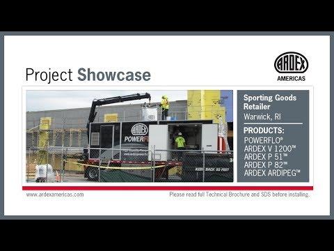 POWERFLO® - Project Showcase - Sporting Goods Retailer